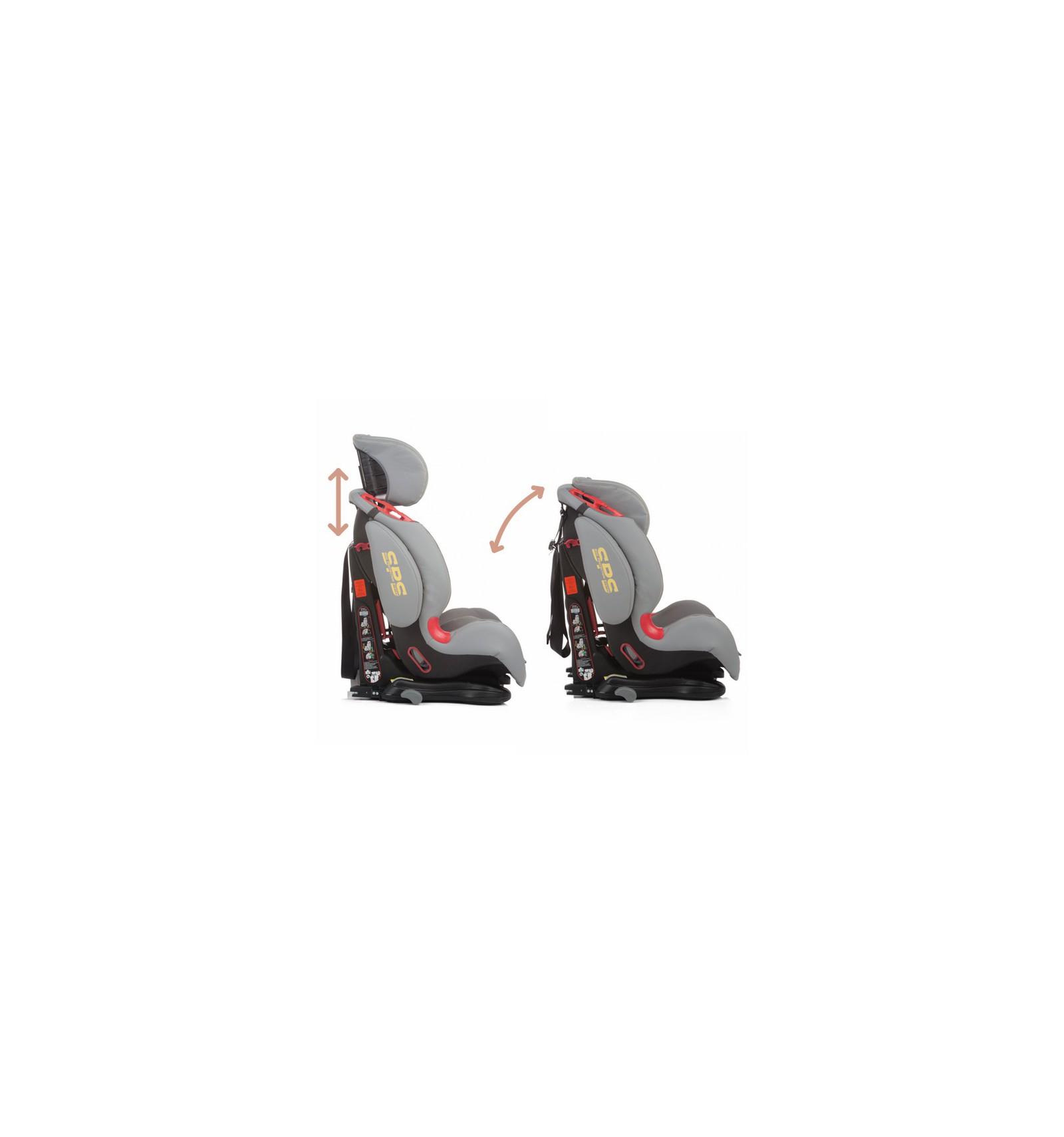 Silla de coche g 1 2 3 thunder isofix negra 2017 for Sillas de coche 0 1 2 3