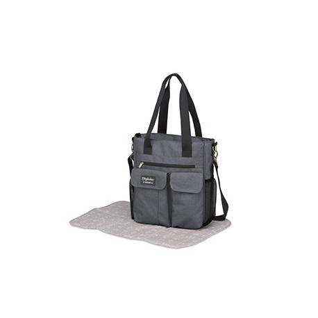 Bolso Carry+camb.denim Gris de Pirulos