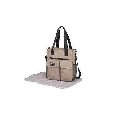 Bolso Carry+camb.denim Lino de Pirulos