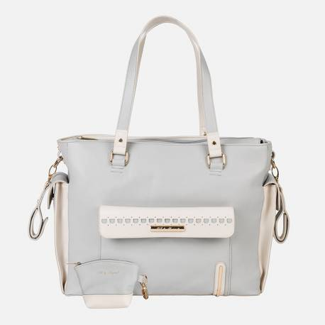 Bolso Cosy Cotton Gris