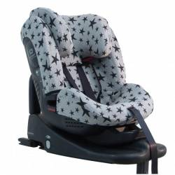 Funda Silla Auto Staces Isofix Black Stars