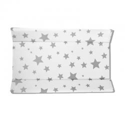 Cambiador Rígido Estrellas Fondo Blanco