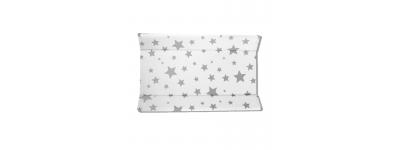 Cambiador B.rigido 5983513 Fondo Blanco Estrellas Grises de Plastimyr