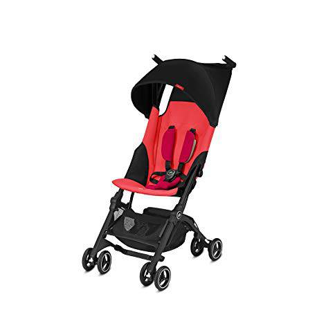 Silla de Paseo Pockit+ Cherry Red/Red