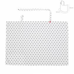Cubre Lactancia Be Dots Unico 92x65 Cm de Cambrass