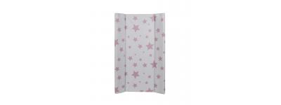 Cambiador Flexible Bañera 5083530 Estrellas Rosas de Plastimyr