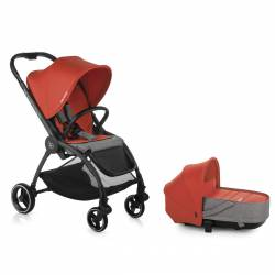 Coche Bebe Duo Outback Be Solid-Poppy