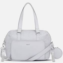 Bolso C/Acces.Queen Of My Home Gris